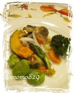 ルクエ 温野菜の簡単ダイエット