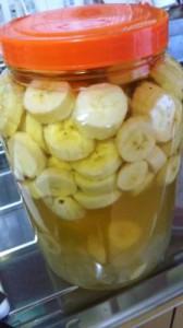 簡単バナナ酢